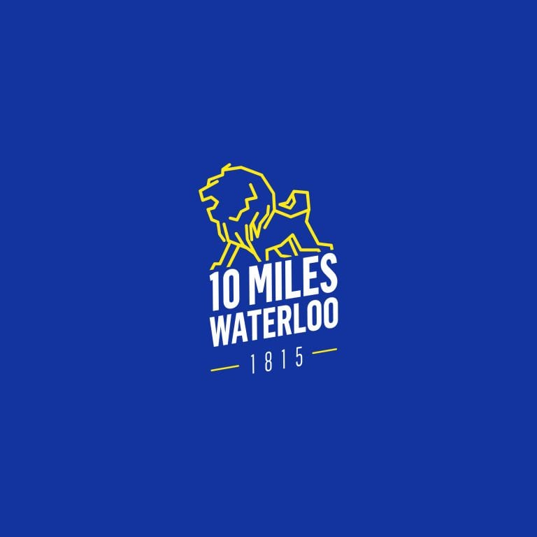 Logo 10 Miles Waterloo 1815