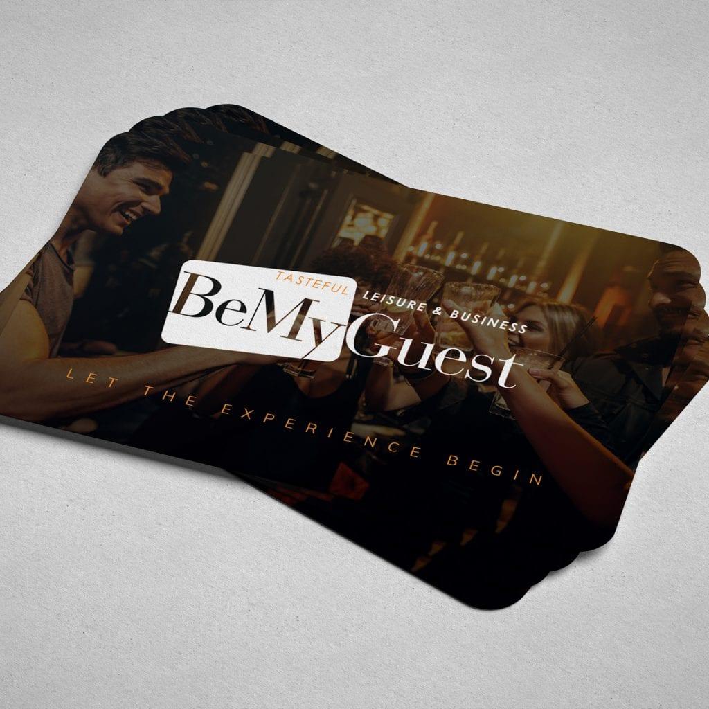 BeMyGuest promotions papier
