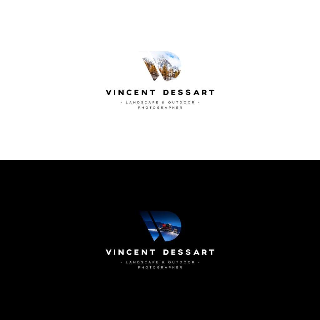 Vincent Dessart Logo evolutif