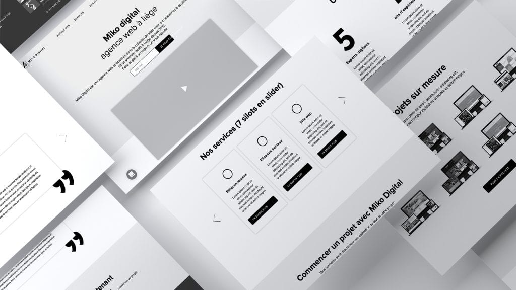 Miko Digital web design