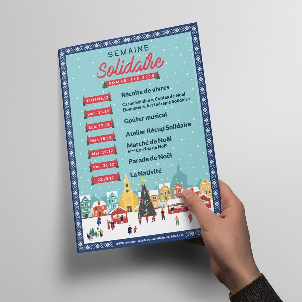 Flyer Semaine Solidaire Sombreffe 2018