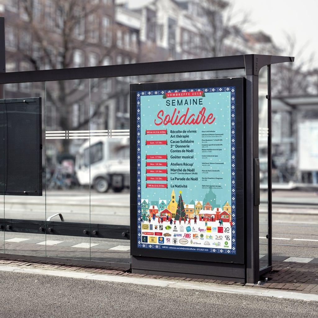 Affiche Semaine Solidaire Sombreffe 2018