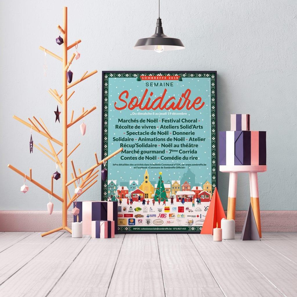 Affiche Semaine Solidaire Sombreffe 2019