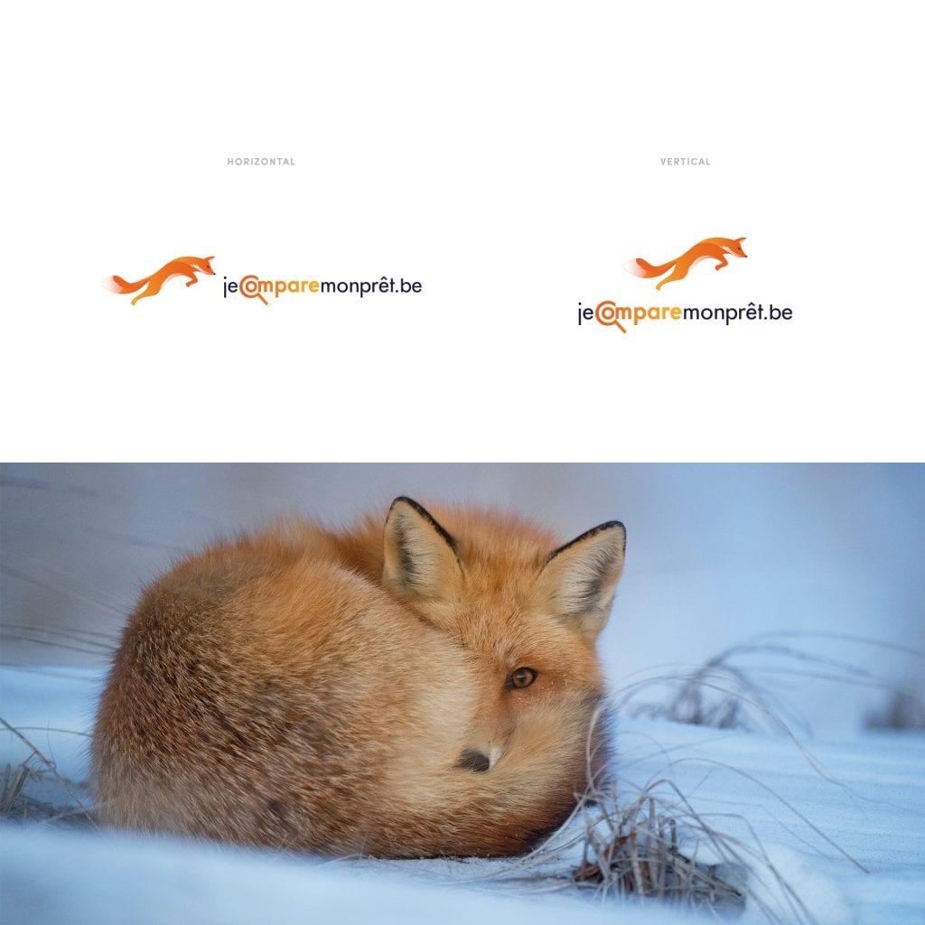 Logo Jecomparemonpret.be