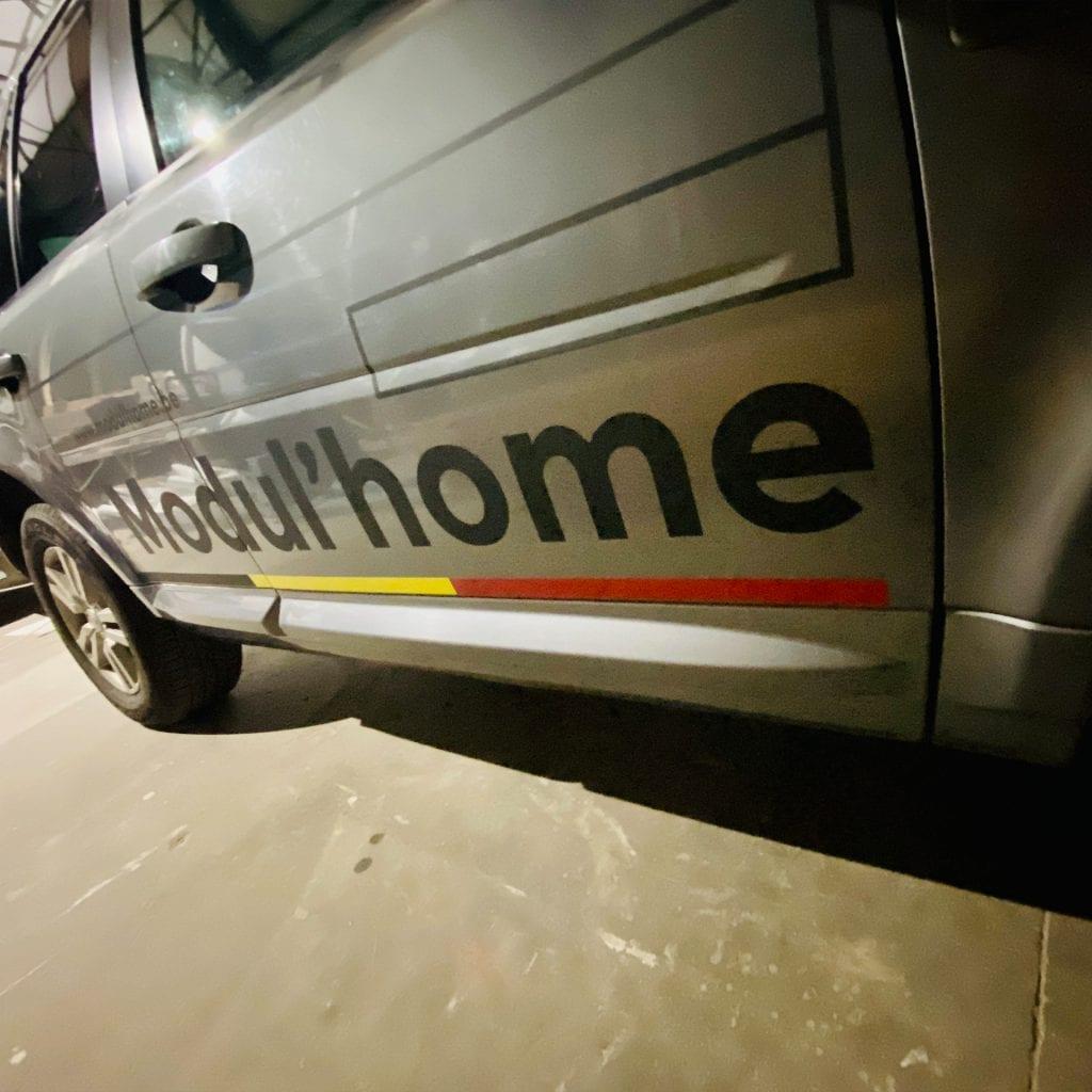 Modul'Home lettrage landrover Freelander