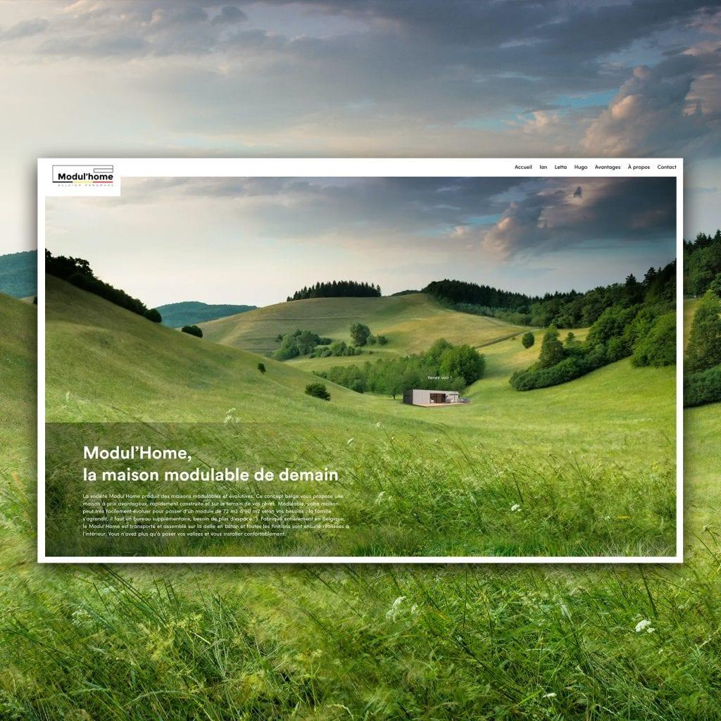 Modul'Home site web catalogue interactif