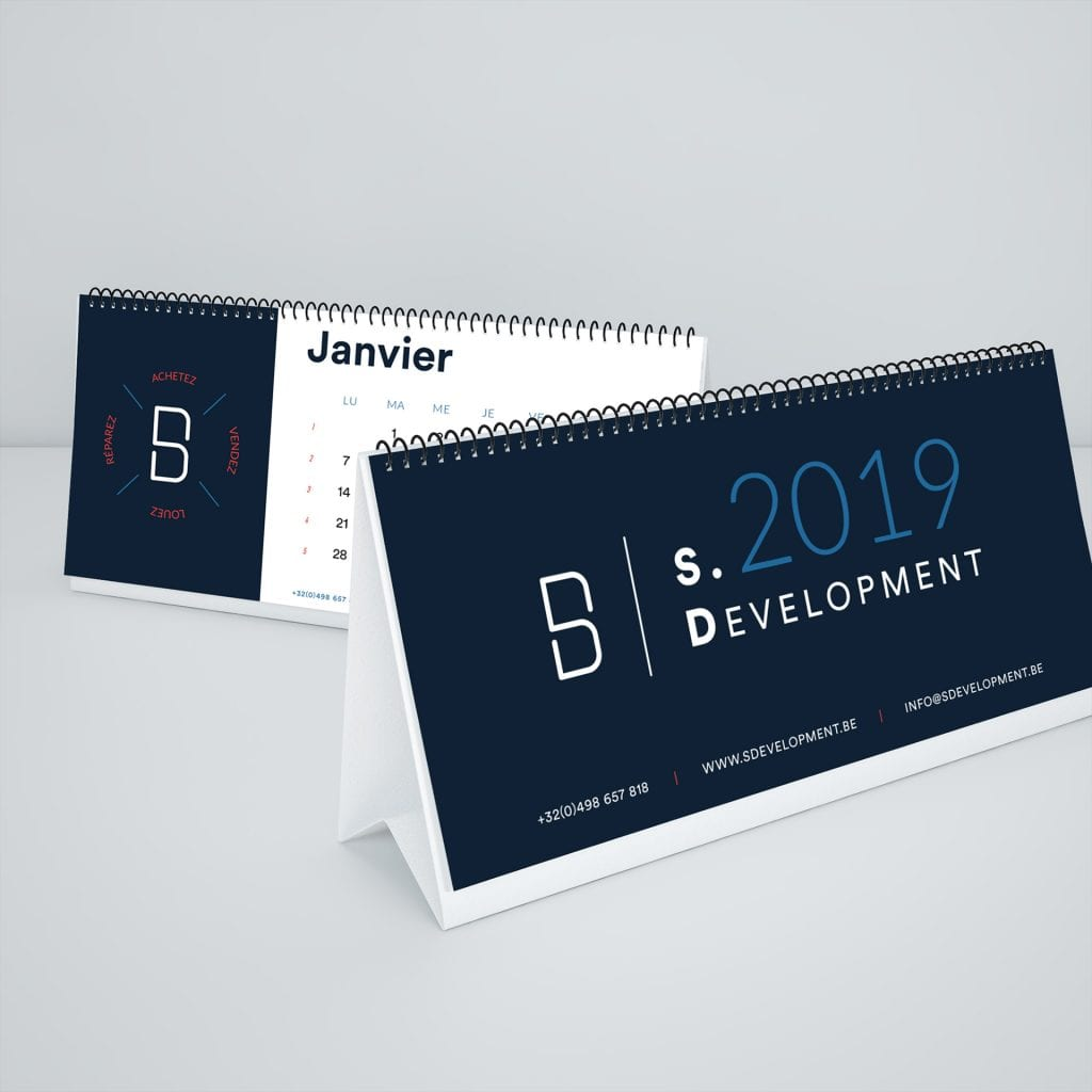S Development calendrier