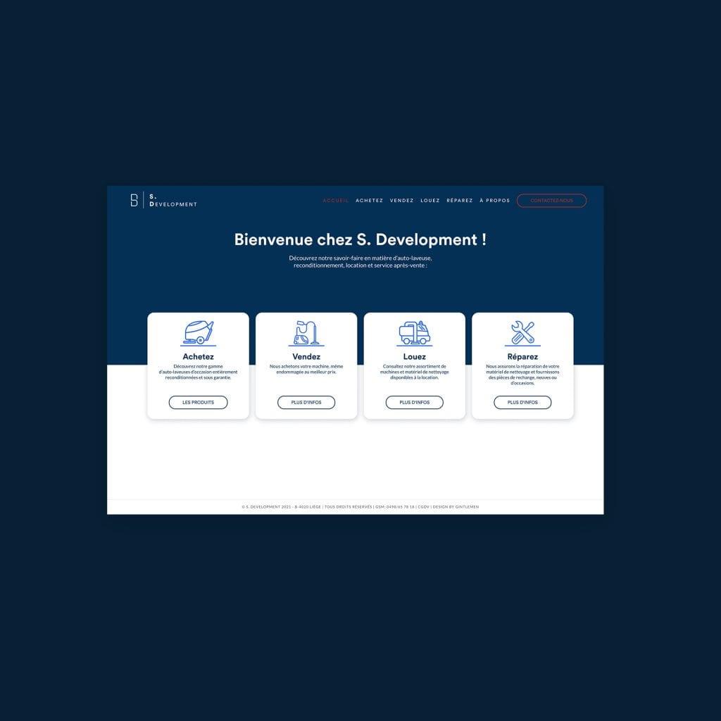 S Development site web
