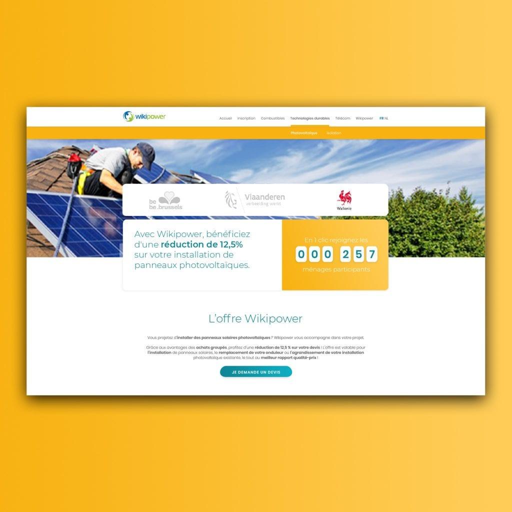 site web Wikipower achats groupés