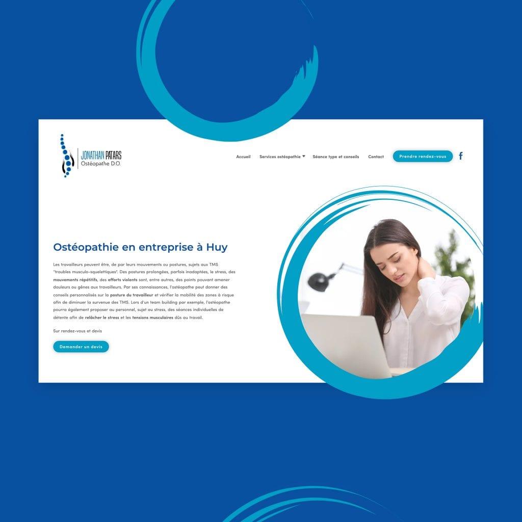 Site web jonathan patars osteopahte huy