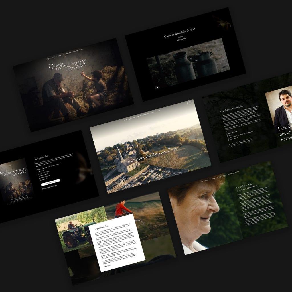 Site web film les hirondelles s'en vont