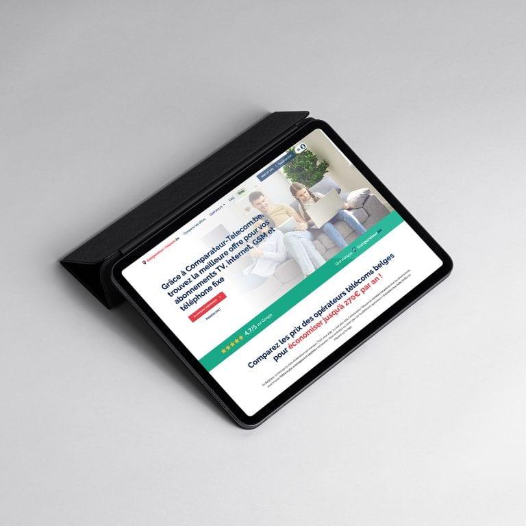 Comparateur telecom site web
