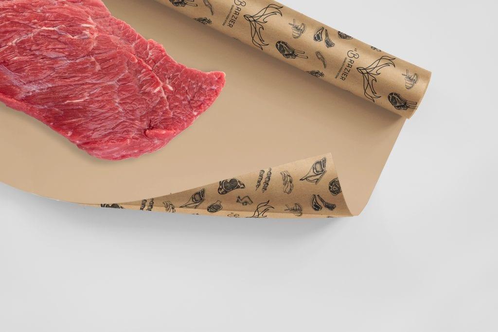 Le Brazier emballage viande