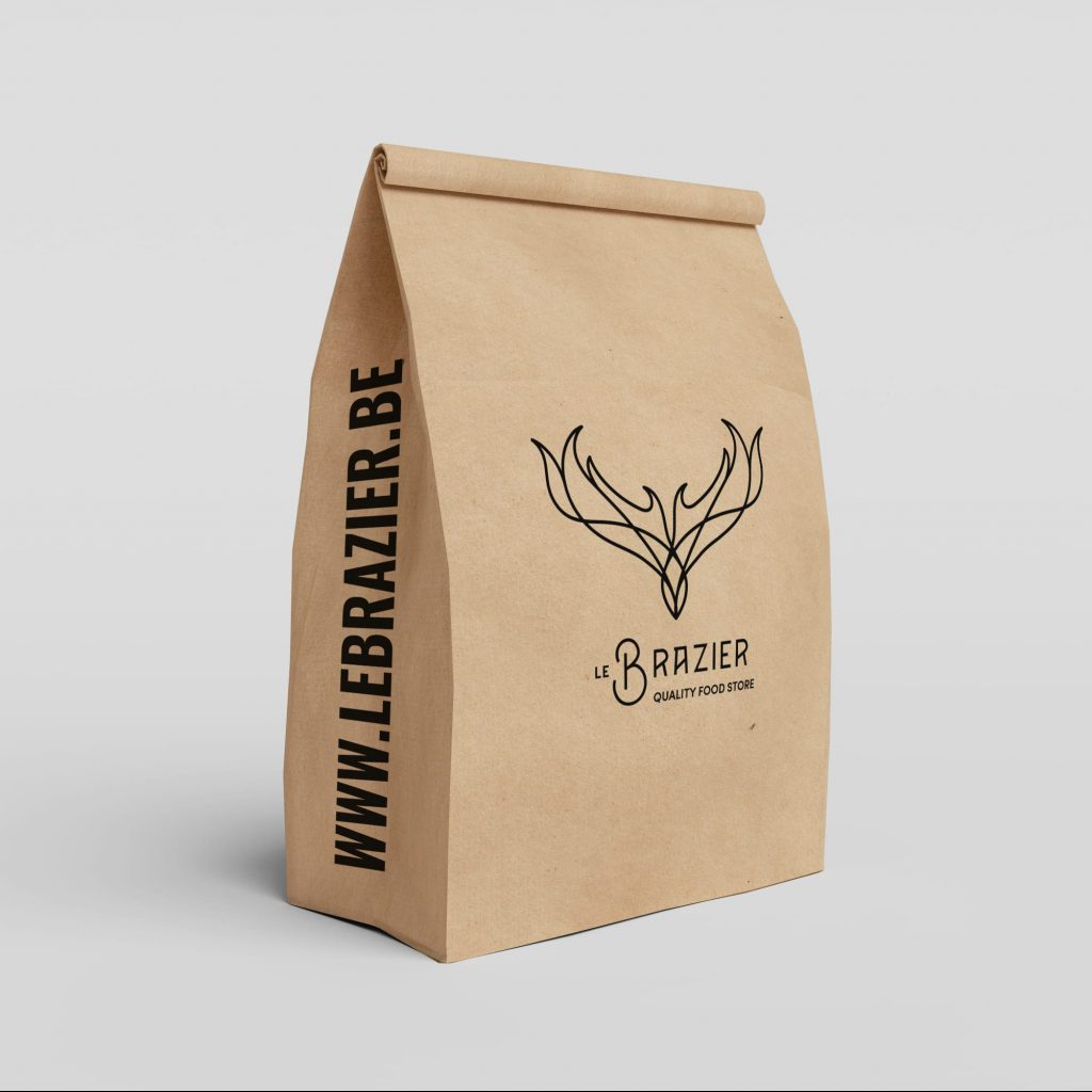 Le Brazier sac packaging