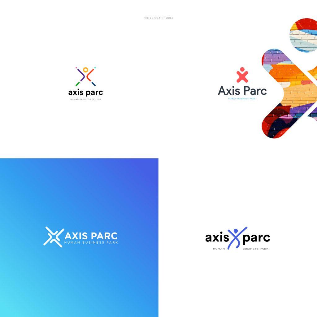 Axis parc creation logo